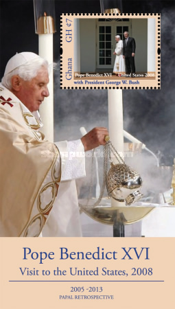 [Pope Benedict XVI - Visit to the United States, 2008, type ]