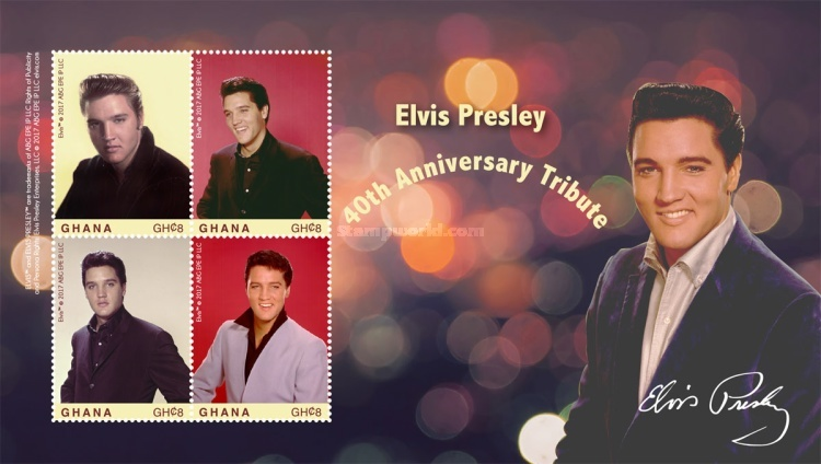 [The 40th Anniversary of the Death of Elvis Presley, 1935-1977, type ]