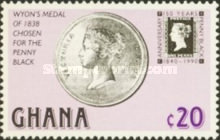 [The 150th Anniversary of the Penny Black, type ASX]