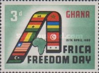 [African Freedom Day, type BE]