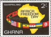 [Africa Freedom Day - Overprinted