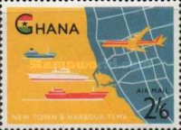 [Airmail - Opening of Tema Harbour, type CM1]
