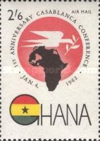 [Airmail - The 1st Anniversary of Casablanca Conference, type CN1]