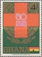 [The 50th Anniversary of League of Red Cross Societies, type KF]