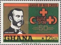 [The 50th Anniversary of League of Red Cross Societies, type KG]