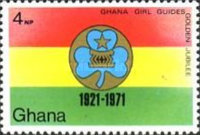 [The 50th Anniversary of Ghana Girl Guides, type LT]