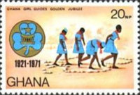 [The 50th Anniversary of Ghana Girl Guides, type LV]