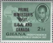 [Prime Minister's Visit to United States and Canada - Overprinted