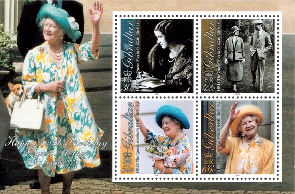 [The 100th Anniversary of the Birth of the Queen Mother, type ]