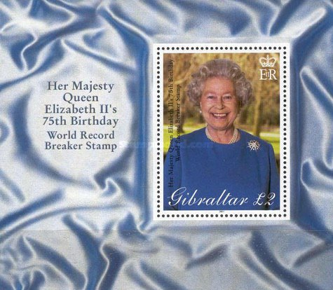 [The 75th Anniversary of the Birth of Queen Elizabeth II, type ]