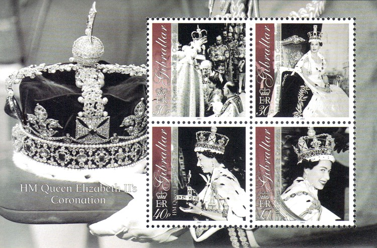 [The 50th Anniversary of the Coronation of Her Majesty Queen Elizabeth II, type ]