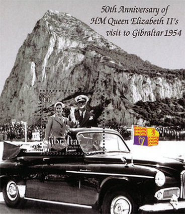 [The 50th Anniversary of H.M Queen Elizabeth II's Visit to Gibraltar, type ]