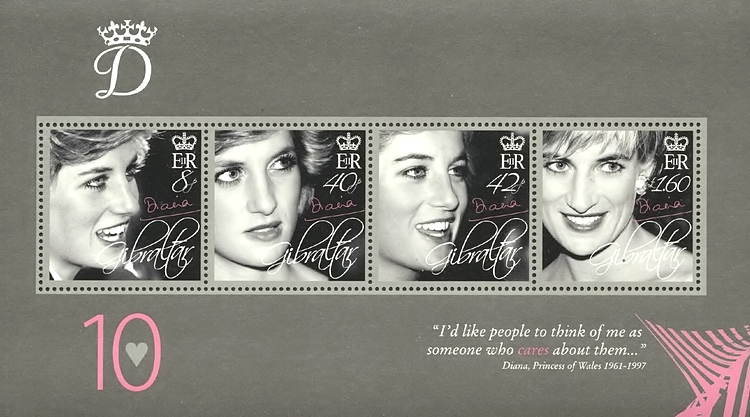 [The 10th Anniversary of the Death of princess Diana, 1961-97, type ]