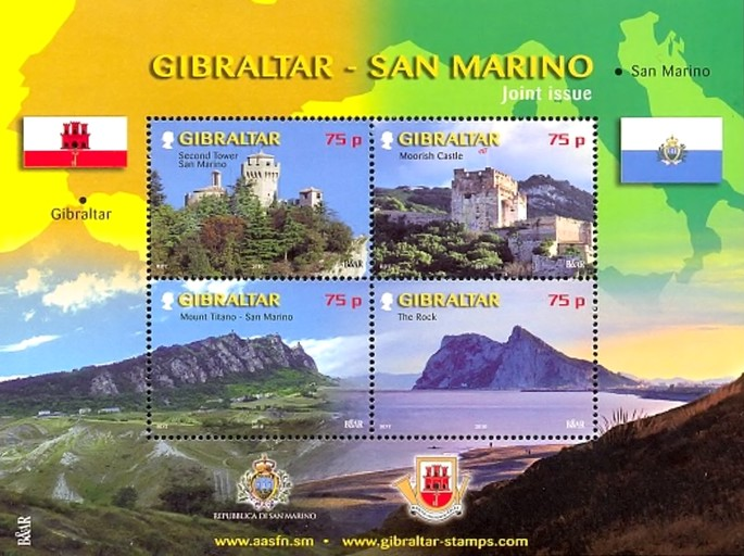 [Tourism - Joint Issue with San Marino, type ]