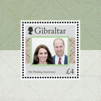 [The 10th Wedding Anniversary of Prince William and Kate Middleton, type ]