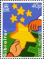 [EUROPA Stamps - Tower of 6 Stars, type ACQ]