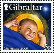 [Christmas Stamps, type AED]