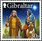 [Christmas Stamps, type AEE]