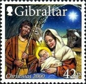 [Christmas Stamps, type AEH]
