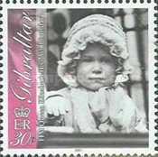 [The 75th Anniversary of the Birth of Queen Elizabeth II, type AEY]