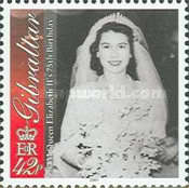 [The 75th Anniversary of the Birth of Queen Elizabeth II, type AFA]