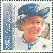 [The 75th Anniversary of the Birth of Queen Elizabeth II, type AFC]