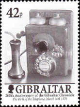 """[The 200th Anniversary of the """"Gibralta Chronicle"""", type AFF]"""