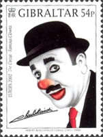 [EUROPA Stamps - The Circus. Famous Clowns, type AGL]