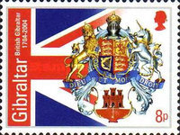 [The 300th Anniversary of the Crown Colony Gibraltar, type AIW]