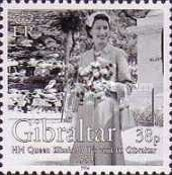 [The 50th Anniversary of H.M Queen Elizabeth II's Visit to Gibraltar, type AJG]