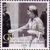[The 50th Anniversary of H.M Queen Elizabeth II's Visit to Gibraltar, type AJH]