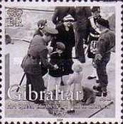 [The 50th Anniversary of H.M Queen Elizabeth II's Visit to Gibraltar, type AJJ]