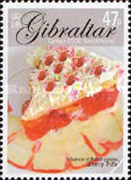 [EUROPA Stamps - Gastronomy, type ALB]
