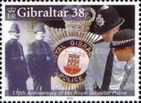 [The 175th Anniversary of the Royal Gibraltar Police, type ALG]