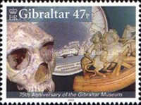 [The 75th Anniversary of the Gibraltar Museum, type ALH]