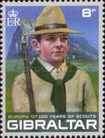 [EUROPA Stamps - The 100th Anniversary of Scouting, type AOH]