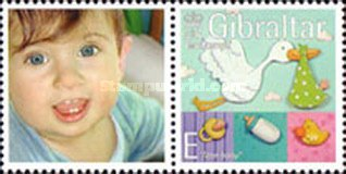 [Greeting Stamps - Issued with Personalized Label, type AOV1]