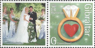 [Greeting Stamps - Issued with Personalized Label, type AOW]