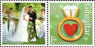 [Greeting Stamps - Issued with Personalized Label, type AOW1]