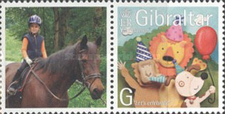 [Greeting Stamps - Issued with Personalized Label, type AOY]