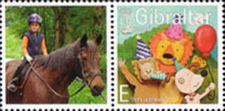 [Greeting Stamps - Issued with Personalized Label, type AOY1]