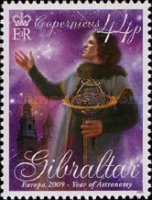 [EUROPA Stamps - Astronomy, type ASX]