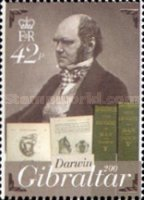 [The 200th Anniversary of the Birth of Charles Darwin, 1809-1882, type ATM]