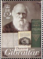 [The 200th Anniversary of the Birth of Charles Darwin, 1809-1882, type ATO]