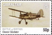 [The 70th Anniversary of the Battle of Britain - Airplanes, type AUA]