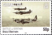 [The 70th Anniversary of the Battle of Britain - Airplanes, type AUB]