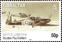 [The 70th Anniversary of the Battle of Britain - Airplanes, type AUD]