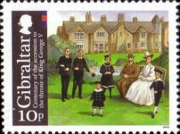 [The 100th Anniversary of the Coronation of King George V, type AUG]