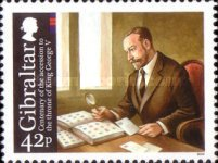 [The 100th Anniversary of the Coronation of King George V, type AUH]