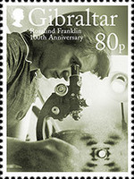 [The 100th Anniversary of the Birth of Rosalind Elsie Franklin, 1920-1958, Typ BPE]
